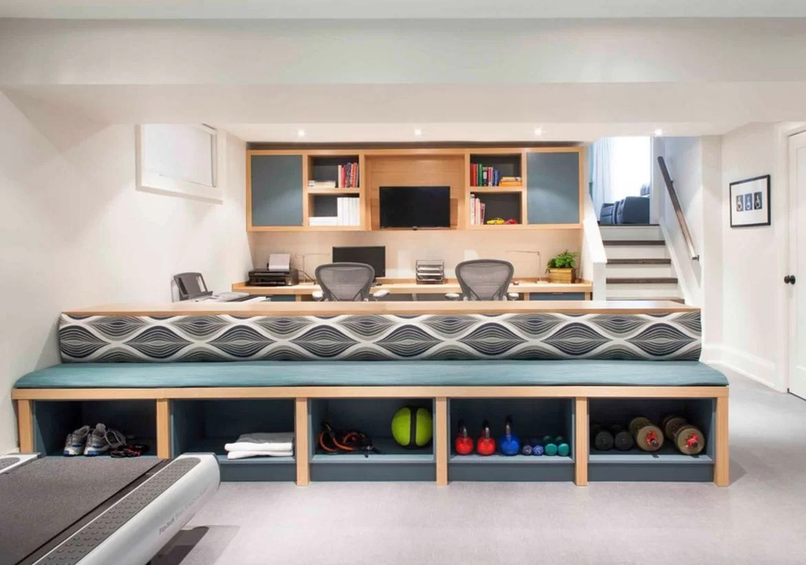 Basement Offices Ideas 50 Modern Basement Ideas To Prompt Your Own Remodel Home