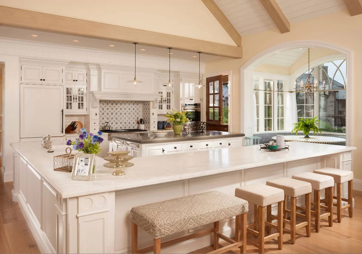 Kitchen Design With Round Island 70 Spectacular Custom Kitchen Island Ideas Home