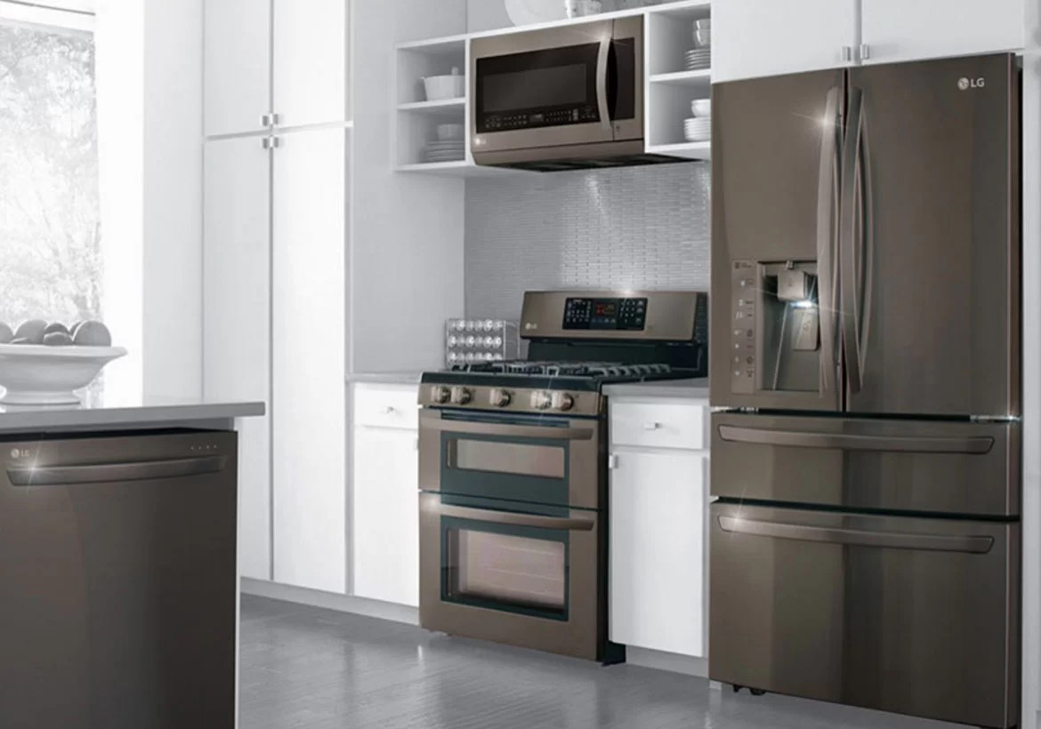 Kitchen Cabinet Colors For White Appliances Kitchen Appliances Colors New And Exciting Trends Home