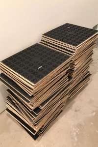 Basement Subfloor Options DRIcore Versus Plywood | Home ...