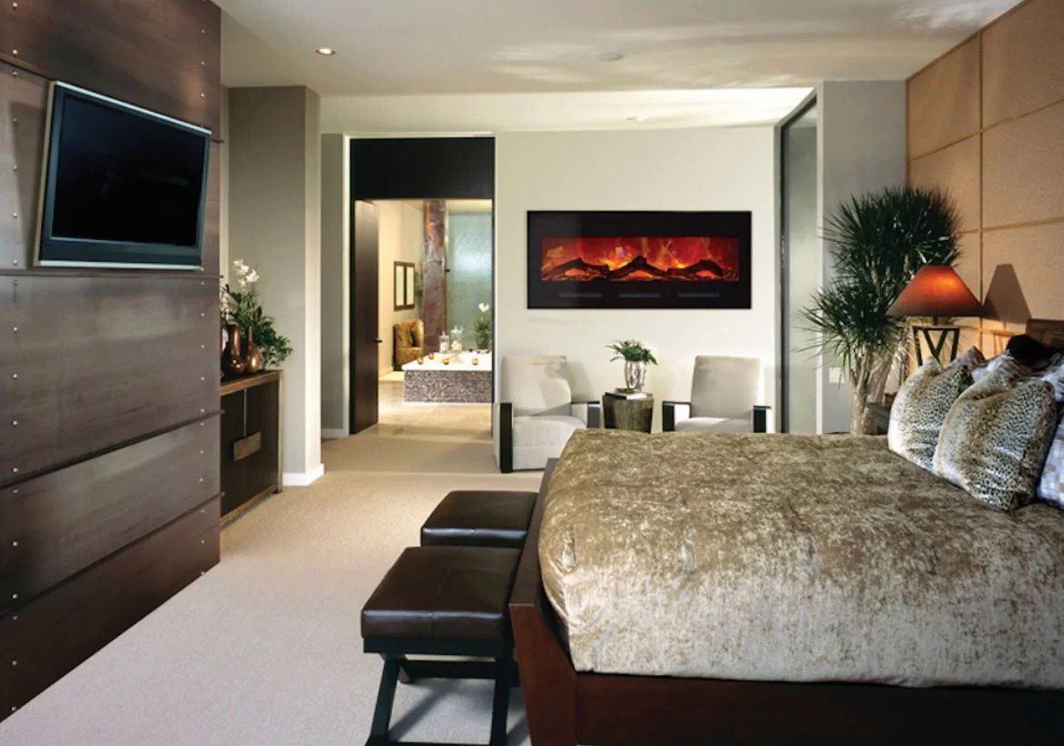 Electric Fireplace Built Into Wall Modern Electric Fireplaces To Warm Your Soul Home Remodeling