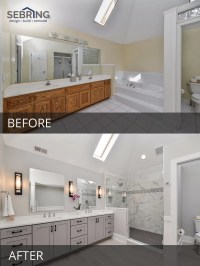 Sarah & Rays Master Bathroom Before & After Pictures ...
