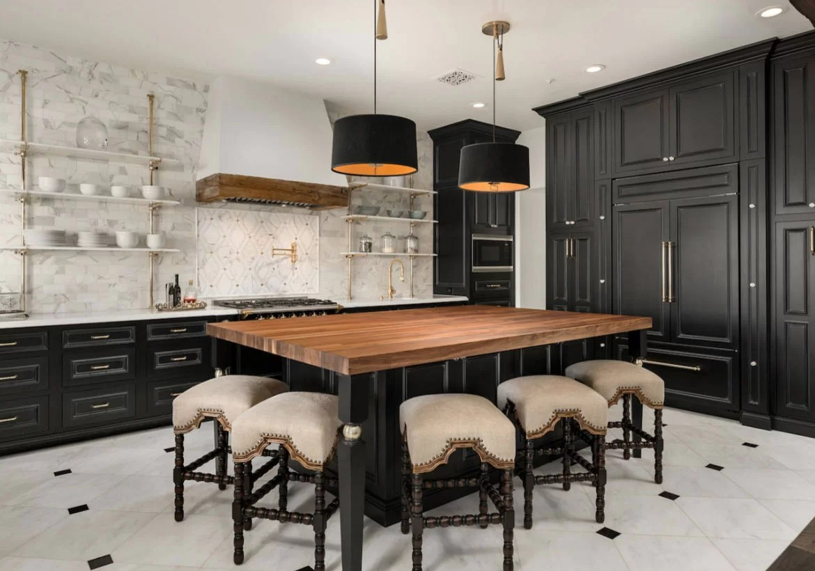 Black Island Kitchen 67 Desirable Kitchen Island Decor Ideas Color Schemes Home