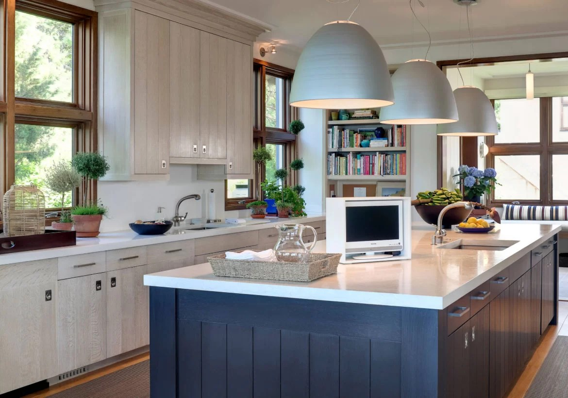Island Kitchen 67 Desirable Kitchen Island Decor Ideas And Color Schemes