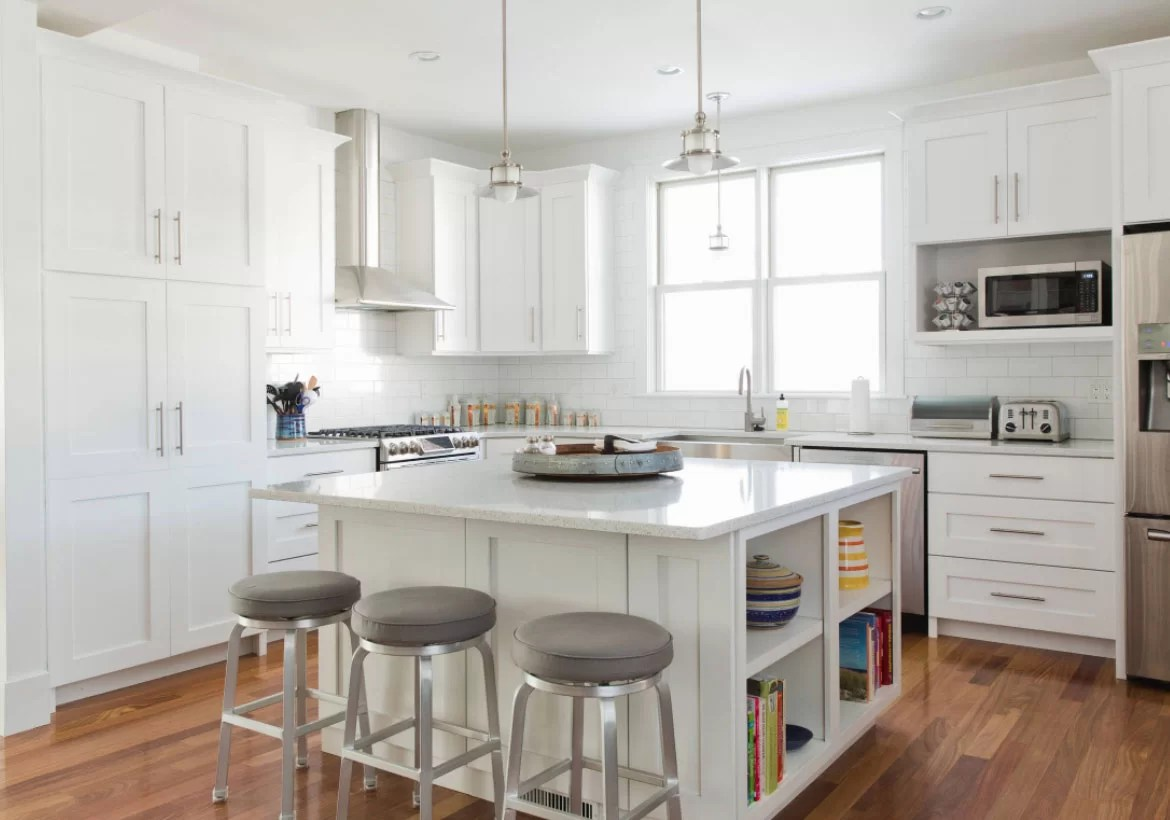 Fascinating White Kitchen Cabinets Ideas