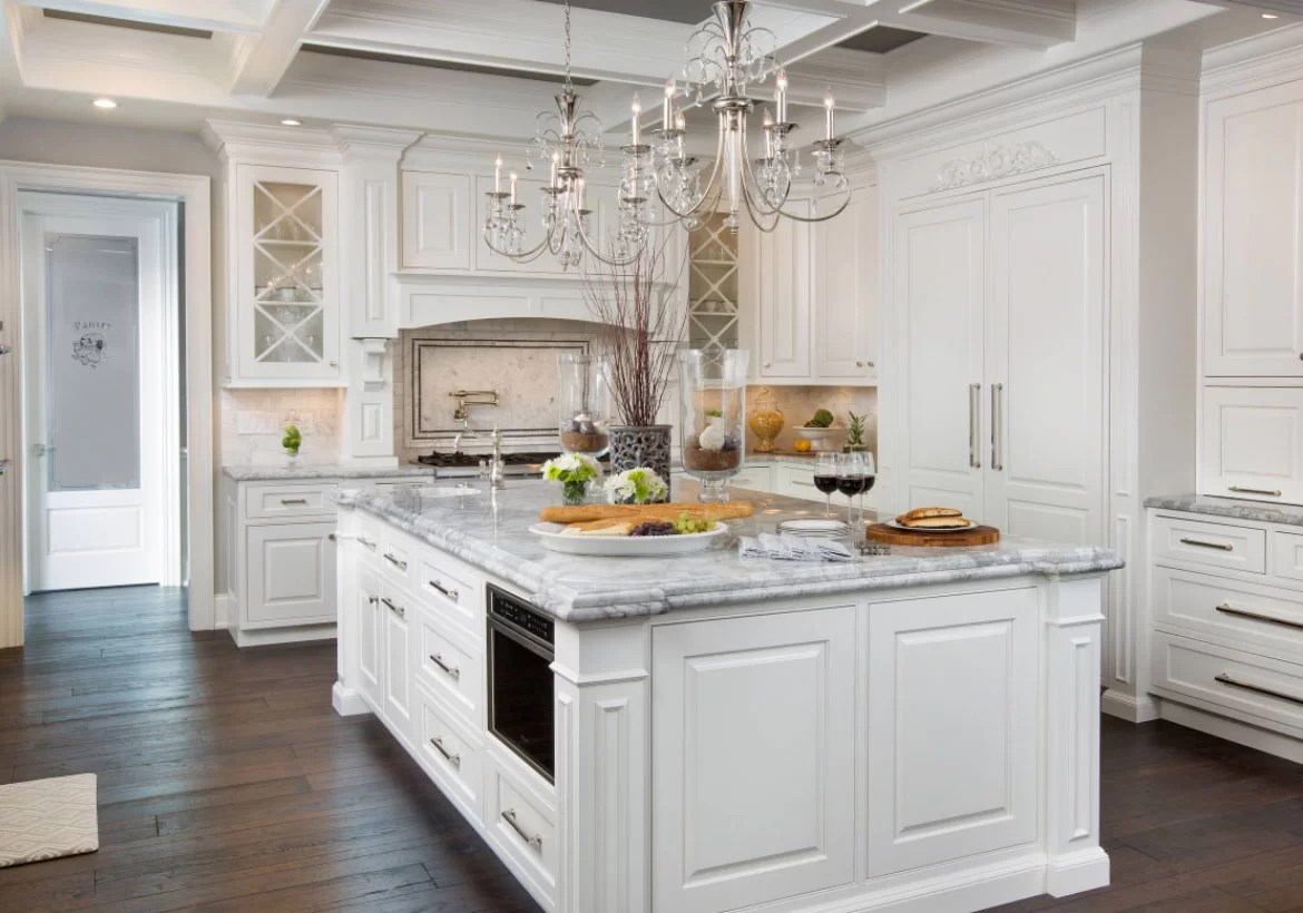 Granite Kitchen Countertops With White Cabinets 35 Fresh White Kitchen Cabinets Ideas To Brighten Your Space