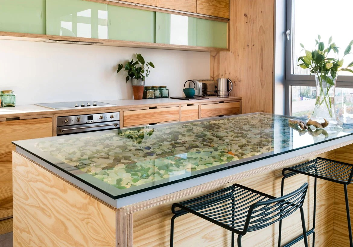 4 Glass Countertop Ideas For Your Next Kitchen Or Bathroom Remodel Home Remodeling Contractors Sebring Design Build