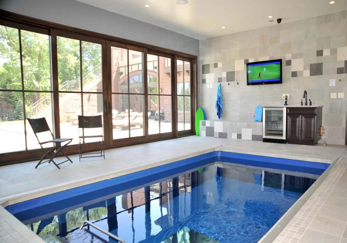 Jacuzzi Pool In Ground Indoor Pool And Hot Tub Ideas Swim With Style At Home Home