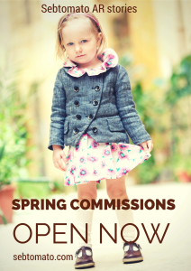 Spring commissions open