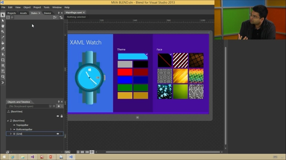 Designing Your XAML UI with Blend (01) XAML Development in Visual