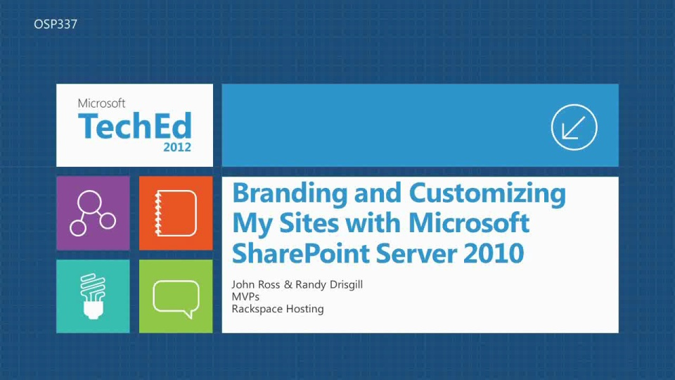 Making the Most of Search in Microsoft SharePoint Online TechEd