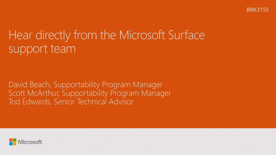 Hear directly from the Microsoft Surface support team Microsoft - microsoft surface support number