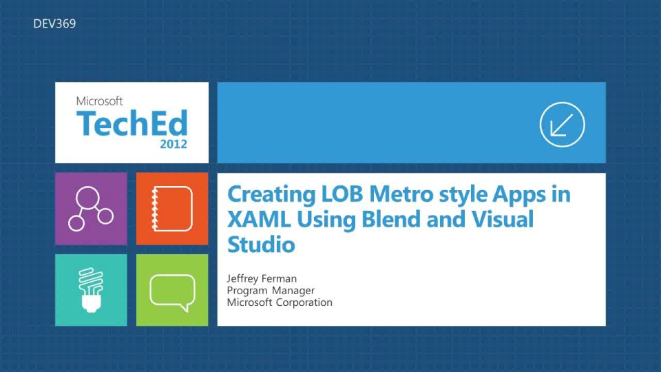 Creating LOB Metro style Apps in XAML Using Microsoft Expression