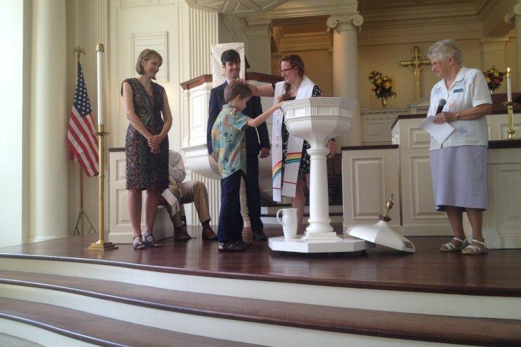 Baptism of Riley Benjamin Cornelisse