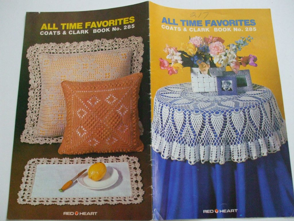 Red Heart No 285 All Time Favorites Crochet Patterns