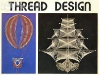 Thread Design String Art Craft book vintage 1974 HP-418 ...