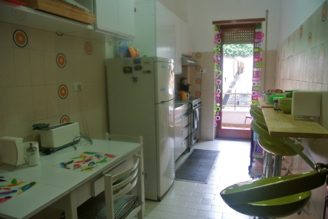 kitchen in Rome apartment