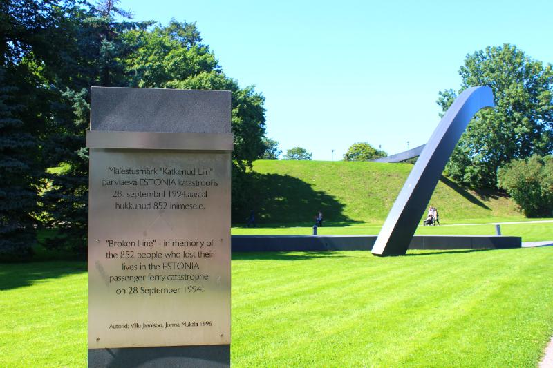 Estonia Memorial in Tallinn
