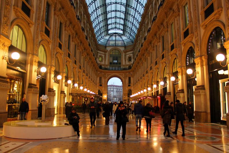 Galleria Vittorio Emanuele II in Milan