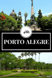 Backpacking in Brazil: 48 hours in Porto Alegre. Have you ever heard of Porto Alegre in Brazil? The Brazilian city has a lot to offer including green parks, educational museums, and the best sunset. Click through now to find out what it's like in Porto Alegre or pin for later!
