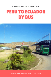 Crossing the border from Peru to Ecuador by bus. Are you travelling in South America and planning to cross the border from Peru to Ecuador by bus? Find out what it's like to cross the border on my blog.