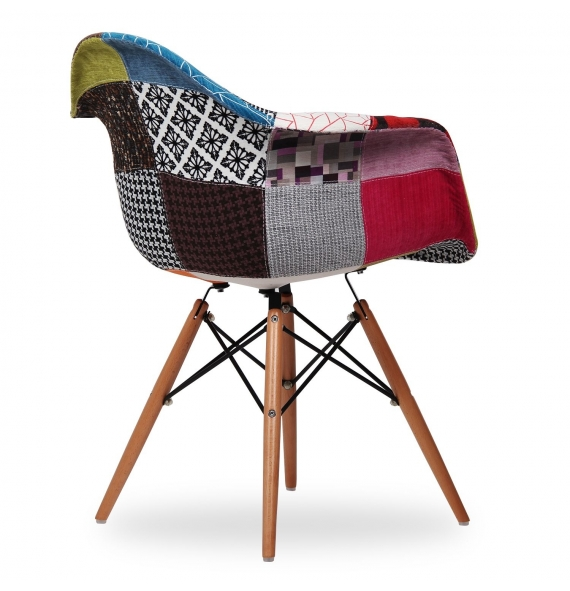 Chaise Daw Chaise Style Eames Daw Patchwork - Secret Design
