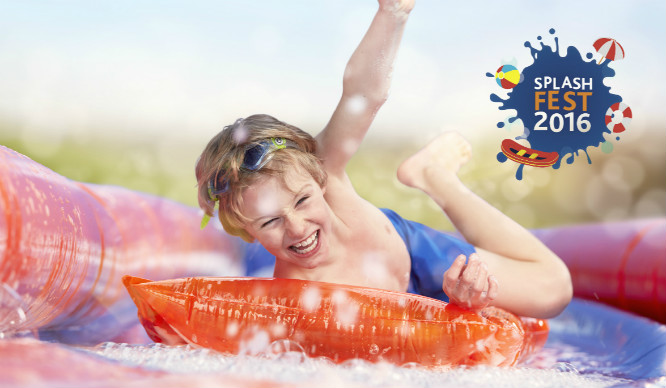 Splash fest feature
