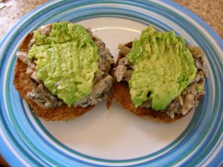 Good Eats Avocado And Sardines