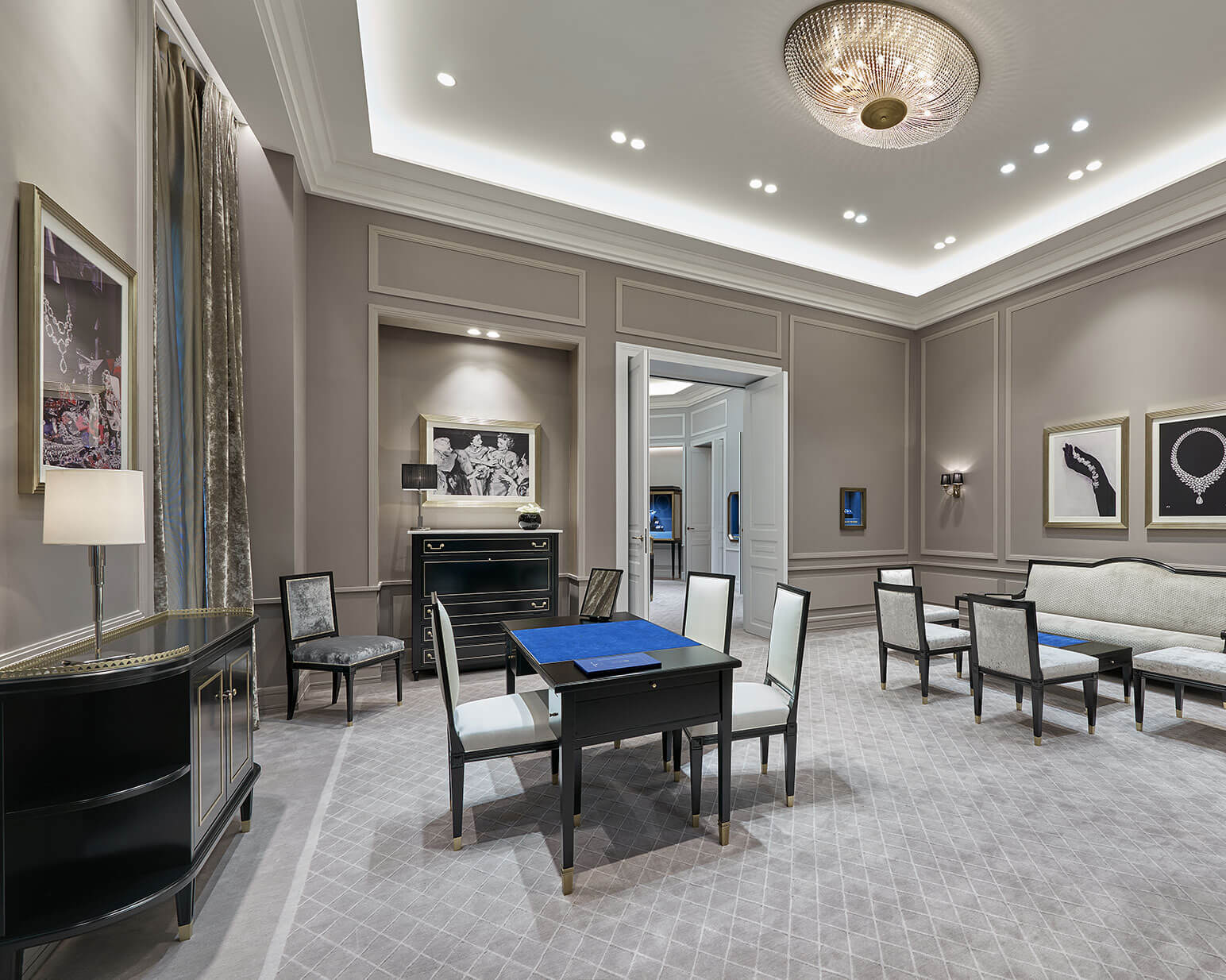 Salon Horlogerie Paris Harry Winston Celebrates The Reopening Of Its Historic Salon In
