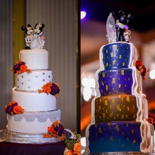 Medium Crop Of Disney Wedding Cake