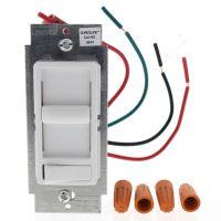 New Leviton White Decora Slide Dimmer Switch Preset LED ...