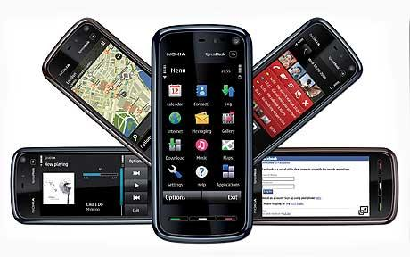 Nokia launches first touch-screen phone - Telegraph - tuch mobil
