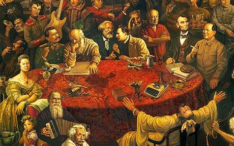 103 Famous Faces In One Painting Telegraph