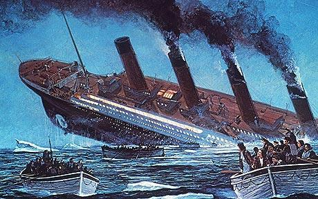 The Titanic Sank Into The Depths Of Humankind Telegraph
