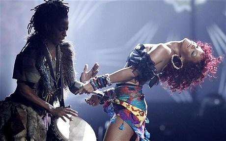 Rihanna makes British chart history - Telegraph