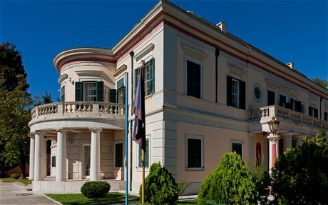 Prince Philip\u0027s birthplace centre of Greek heritage sale row - Telegraph
