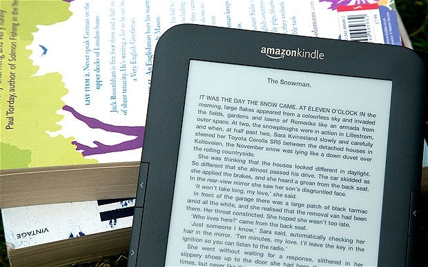 Self-published authors hit by Amazon online royalties cut - Telegraph - self published author