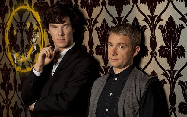 Holmes and Watson \u0027just good friends\u0027 - Telegraph