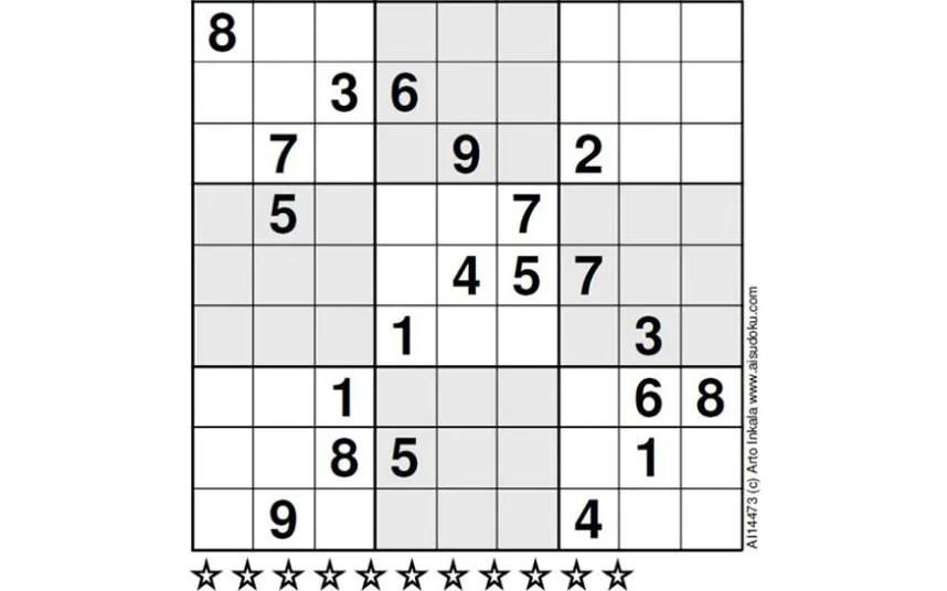 World\u0027s hardest sudoku can you crack it? - Telegraph