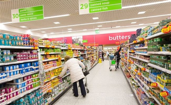 Uk Grocery Sales Fall For First Time On Record As
