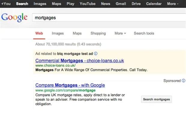 Google launches mortgage comparison service - Telegraph