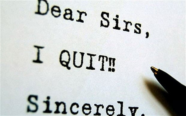 Are these the best resignation letters ever? - Telegraph - resignation letter cake