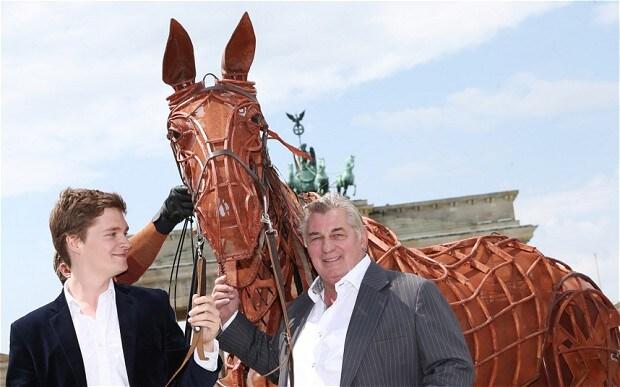 War Horse in Berlin behind the scenes - Telegraph