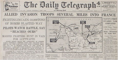 D Day 6th June 1944 As It Happened Telegraph