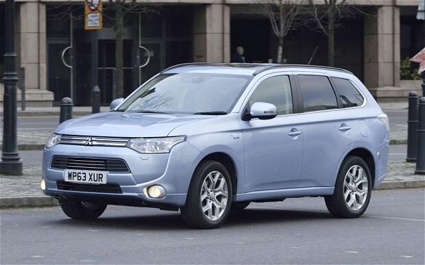 Mitsubishi Outlander PHEV review - Telegraph