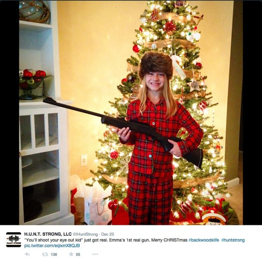 Christmas Santa Hd Wallpapers Americans Delight At Finding A Gun From Santa Under The