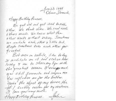 Is this the greatest love letter of all time? - Telegraph - love letter