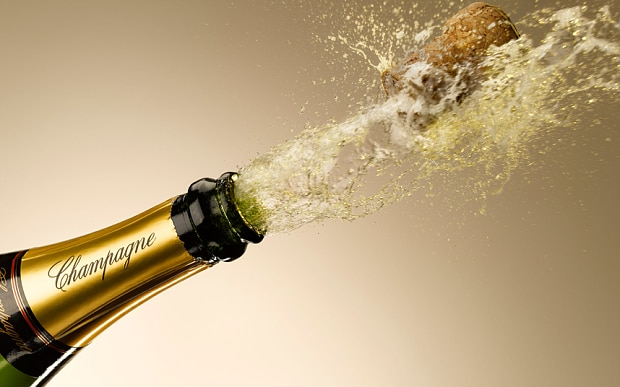 How To Open A Bottle Of Champagne Without Taking Your Eye