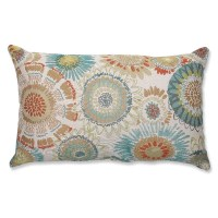 Bungalow Rose Bangor Aqua Lumbar Pillow & Reviews | Wayfair