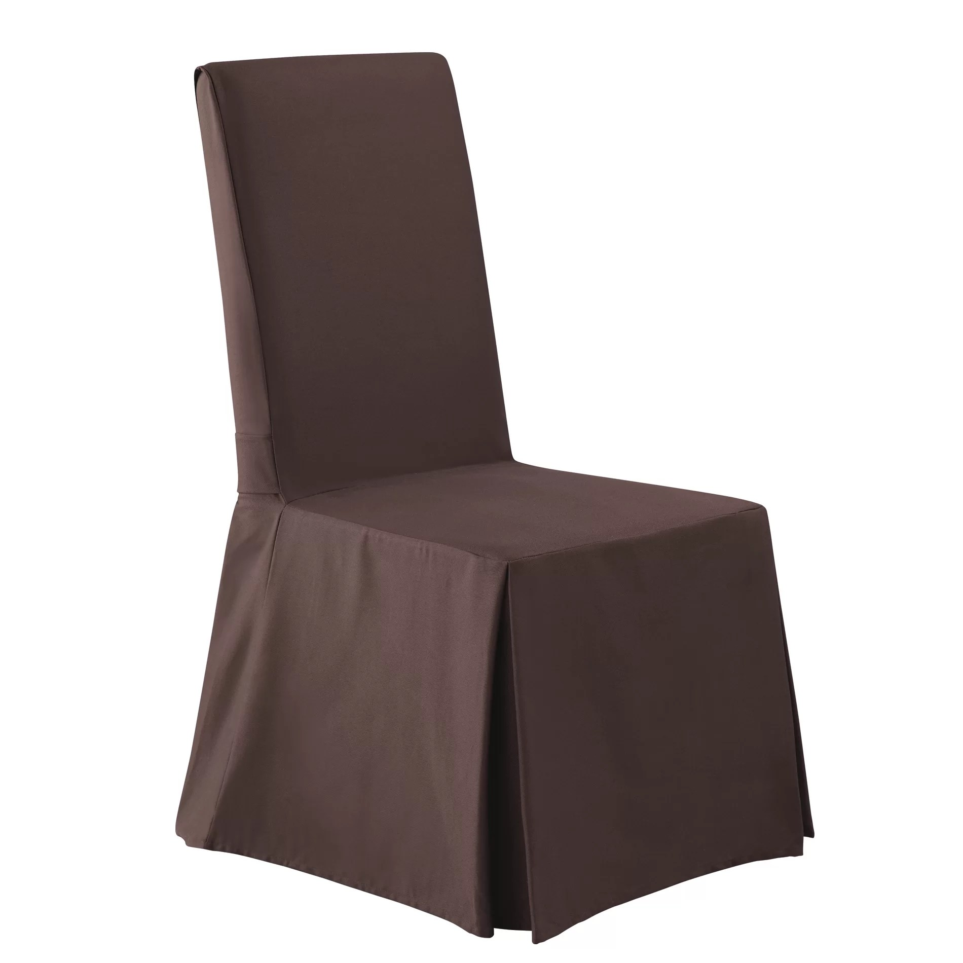 Long Chair Sure Fit Twill Supreme Long Chair Slipcover And Reviews